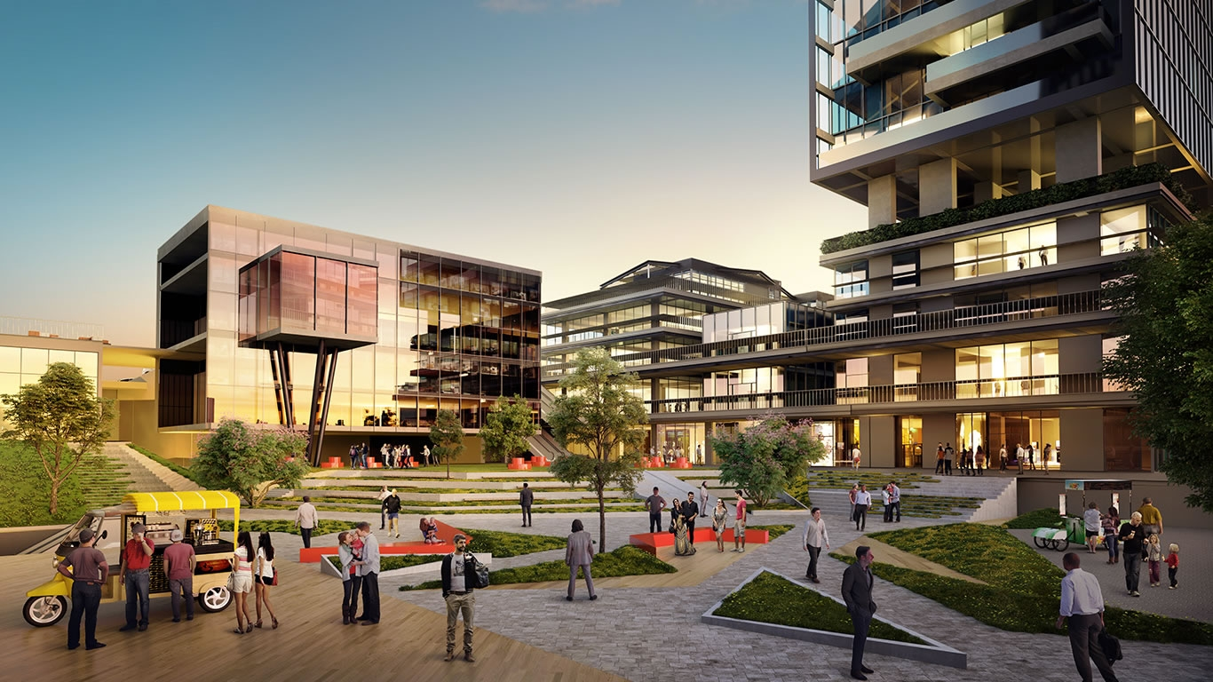 Cubes ankara housing projects projects for Cube suites istanbul
